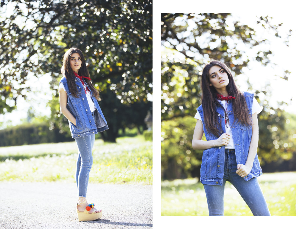 collage jeans